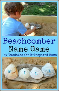 Letter Learning Name Game - Beach Style!