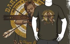 Daryl's Arrows - Hunting & Tracking by kgullholmen--just bought! Geek Shirts, Geek Chic, Cool Stuff, Stuff To Buy, Fangirl, Nerd, Arrows, Geek Stuff, My Style