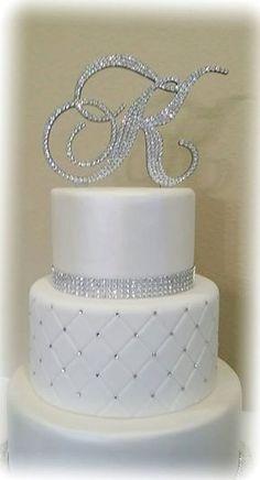 Fake Wedding Cakes, Fondant Wedding Cakes, White Wedding Cakes, Elegant Wedding Cakes, Wedding Cake Designs, Wedding Cupcakes, Wedding Cake Toppers, Gold Wedding, Cake Fondant