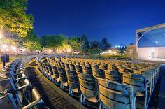 Frederick, Maryland. Baker Park Band Shell, Summer Concert Series