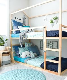 new ikea hacks mommo design ikea hacks, wood house kids kura bed Boys Bedroom Furniture, Kids Bedroom, Bedroom Decor, Bedroom Ideas, Furniture Ideas, Childrens Bedroom, Bedroom Small, Room Kids, Wood Bedroom