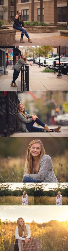 This is the 3rd sister from this family we had the privilege to shoot for senior year – and this, the baby of the family, means we're going to miss seeing them every couple of years! Al…