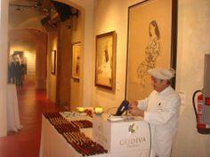 Dipping Experience de Godiva Barcelona en el MEAM
