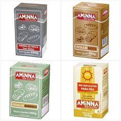 As Farinhas sem Glúten Aminna são ideais para sua Receitas sem Glúten! Compre online e receba em casa!