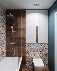 Bathroom Design Luxury, Bathroom Design Small, Bathroom Spa, Modern Bathroom, Bathroom Wallpaper Trends, Modern Toilet Paper Holders, Black Toilet, Toilet Design, Interior Decorating
