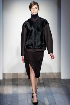 The only good thing I found it this collection by Victoria Beckham fashion week 2013