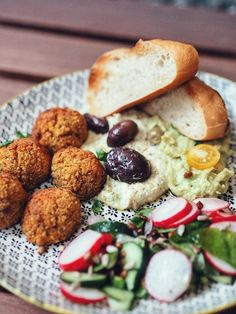 Süßkartoffelfalafel und Kräuterhummus (vegan) | Barsista