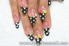 fruits stiletto nail art » Nail Designs & Nail Art