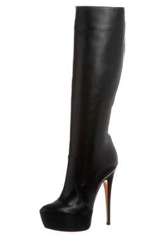 Beautiful black high heeled boots by Casadei @ Zalando ❤ Shoes