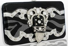 It's A Cowgirl Thing Boutique Cowgirl Outfits, Cowgirl Boots, Western Purses, Cute Wallets, Zebra Print, Purse Wallet, Bling Bling, Westerns, Purses And Bags