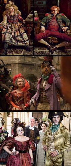 Helena Bonham Carter and Sacha Baron Cohen in 'Les Misérables' (2012) Paco Delgado