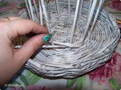 плетем вот такую Пасхальную подставку-плетенку фото 22