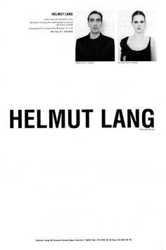 d-o-l-c-e: Helmut Lang