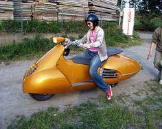 Honda Sci-Fi scooter