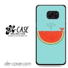 Watermelon Whale Art DEAL-11843 Samsung Phonecase Cover For Samsung Galaxy Note 7