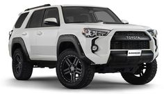 With their recessed stainless steel bolts and massive presence, Pocket Style® Fender Flares are a Bushwacker original and an off-road icon. They're custom-designed for your Toyota 4Runner to complement oversized tires and high-clearance lift kits. You can mount them right out of the box, with their tough, OEM-style matte black finish - they're UV protected so they won't chalk. Or, paint them to match or accent the body color, for a factory-custom look.