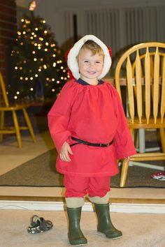 Mommy Lessons 101: On the Fourth Day of Christmas--DIY Santa Costume