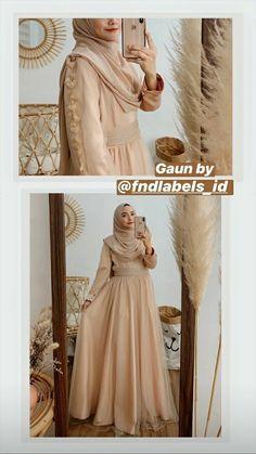 Modest Fashion Hijab, Casual Hijab Outfit, Ootd Hijab, Abaya Fashion, Muslim Fashion, Fashion Outfits, Gaun Dress, Kebaya Dress, Hijab Dress