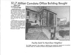 In 1981, Comdata expanded its corporate office by purchasing the Fireman's Fund Building in Nashville for $1.7M. Just eight years after purchasing this building, Comdata's rapid growth led the company to relocate to its current office location in Brentwood, Tenn.