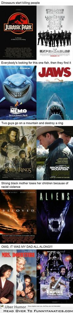 It's funny how two separate movies can have similar plots