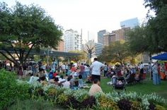 Market Square Park - public art, Niko Niko's and free movies in heart of city