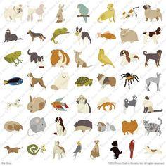 Cricut Pet Shop Lite Cartridge