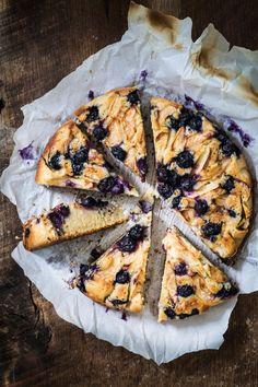 Blueberry apple ricotta cake | Eat Good 4 Life
