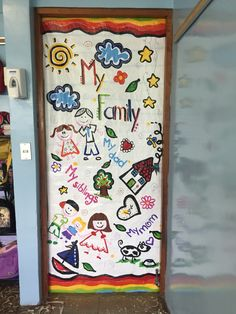 My family day door