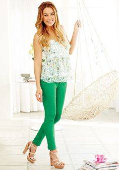 #LaurenConrad's New #Kohl's Collection: Floral camisole and platform sandals. http://news.instyle.com/photo-gallery/?postgallery=113166#