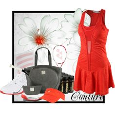 """""""Tennis Couture"""" by azikratch11 on Polyvore"""