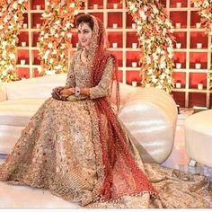 nice Gorgeous bride in this regal bridal attire by Pakistani Couture, Pakistani Wedding Dresses, Indian Wedding Outfits, Pakistani Outfits, Bridal Outfits, Indian Dresses, Eid Outfits, Eid Dresses, Fashion Designer