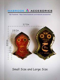 Size Pin Tarompah / Nalayn Blesed