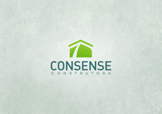 Consense Construtora - Branding, logomarca, identidade visual, material gráfico e website.