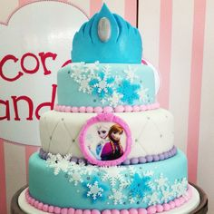 Frozen cake, pastel de frozen