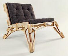 gustav duesing`s spaceframe chair