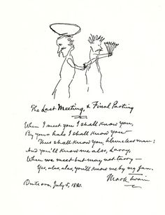 On Loves, Lunacies, and Losses: The Little-Known Poetry of Mark Twain | Brain Pickings