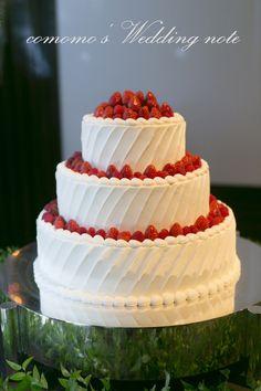 マンダリンオリエンタルのウェディングケーキ♪ - comomo's Wedding note