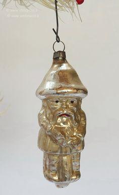 THE OLD CHRISTMAS STATION - Silber Christbaumschmuck :: Jugendstil :: mundgeblasener Glasschmuck :: Silberzeit :: Lauscha :: alter Christbaumschmuck :: Weihnacht :: antik :: bleiverspiegelt