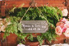 O casamento romântico da Márcia e do João, no Brasil. #casamento #decoração