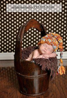 Textured Elf Hat Baby Newborn