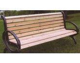 Item#: CC6  Cedar Classique Bench