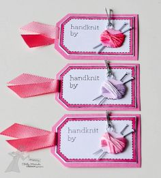 cute tags for gifting handknit gifts - bjl