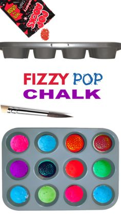 Fizzy Pop Chalk Make sidewalk art that fizzles and POPS with this easy chalk recipe for kids. Science Experiments For Preschoolers, Science Projects For Kids, Educational Activities For Kids, Science Activities For Kids, Stem Projects, Preschool Science, Science Lessons, Toddler Activities, Preschool Activities