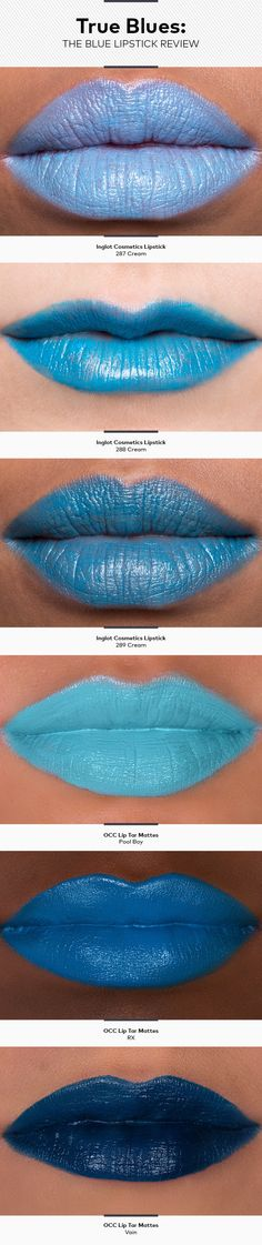 True Blues: The Blue Lipstick Review