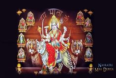 Time to celebrate It is celebrated in different parts of the nation. In Gujarat, is the highlight of this and in Bengal, Puja is celebrated with a lot of vigour and zeal. Happy Navratri Status, Happy Navratri Images, Nav Durga Image, Navratri Pictures, Navratri Image Hd, Maa Wallpaper, Durga Images, Durga Maa, Good Night Image