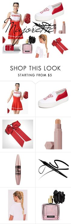 """#Cheerleader"" by morgane-222 on Polyvore featuring mode, Joshua's, Puma, Maybelline, Victoria's Secret et Couture Colour"