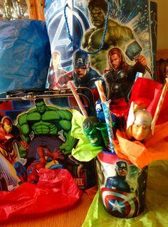 Avengers party favors