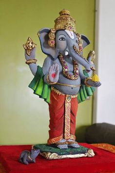 Tirupati Ganesha... this year sculpture for the Ganesha Festival
