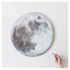 Blue Moon by Stella Maria Baer * All.Art! * The Inner Interiorista