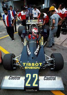 Clay Regazzoni, Ensign-Ford N177, 1977 Brazilian GP, Interlagos